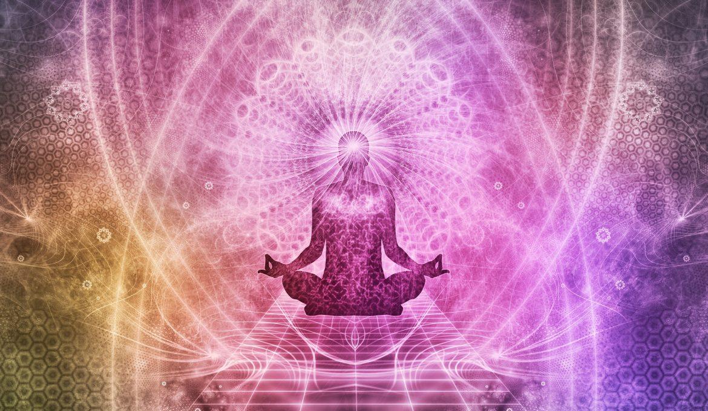 Illustration aura meditation