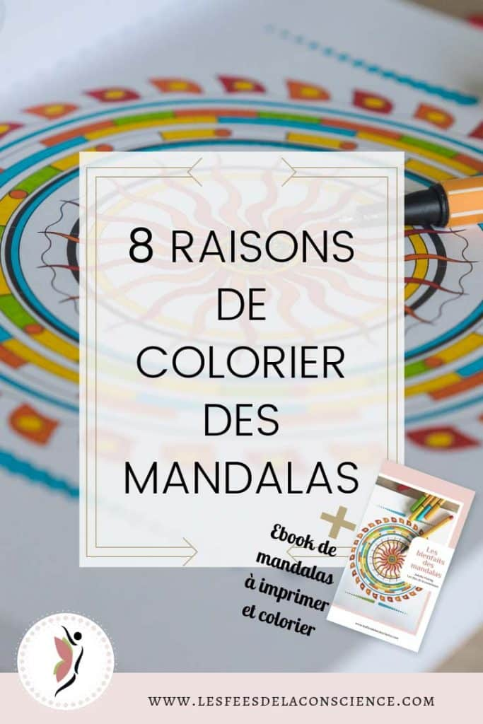 8 raisons de colorier des mandalas