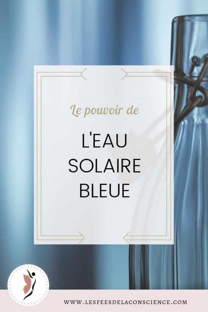 Le pouvoir de l'eau solaire bleue pinterest