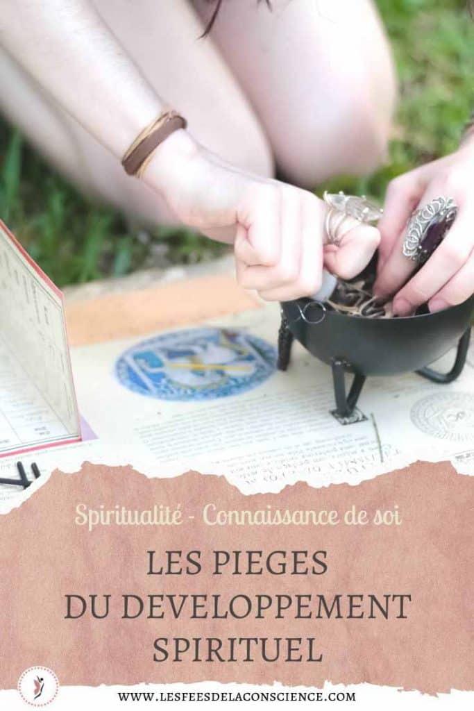 pieges developpement spirituel pinterest